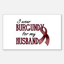 Wear Burgundy - Husband Decal