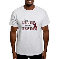 Wear Burgundy - Husband T-Shirt