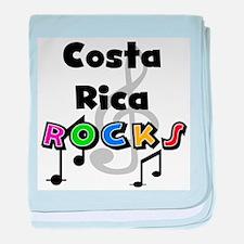 Costa Rica Rocks Infant Blanket