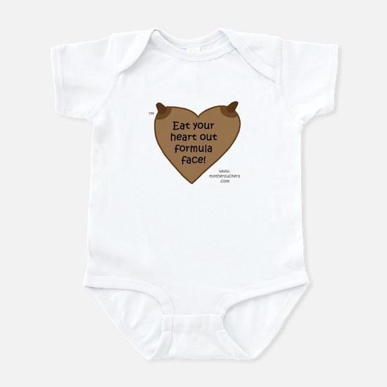 EatYourHeartOut DC Infant Bodysuit