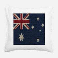 Cute Old political Square Canvas Pillow