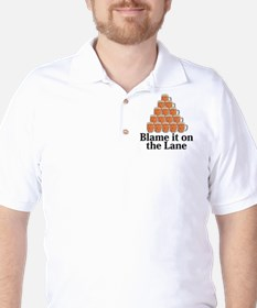 Blame It On The Lane Logo 7 T-Shirt Design Fron