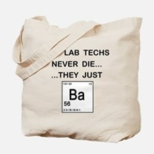 Old Lab Techs Tote Bag