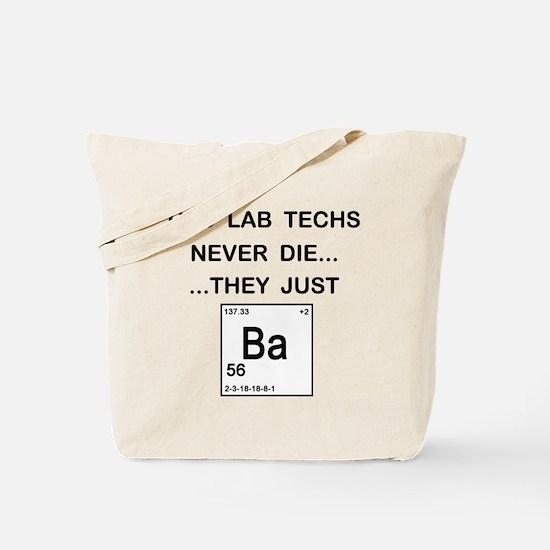 Old Lab Techs Tote Bag