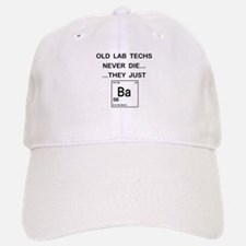 Old Lab Techs Baseball Baseball Cap