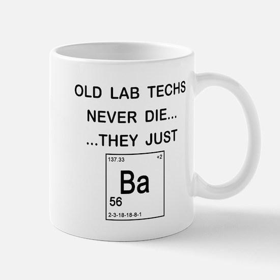 Old Lab Techs Mug