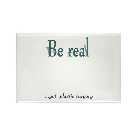 Get Plastic Surgery Rectangle Magnet