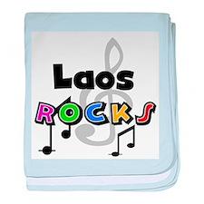 Laos Rocks Infant Blanket