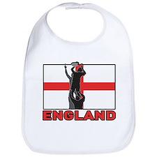 rugby england Bib