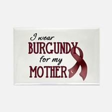 Wear Burgundy - Mother Rectangle Magnet