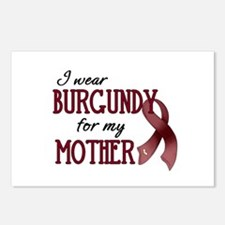 Wear Burgundy - Mother Postcards (Package of 8)