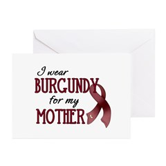 Wear Burgundy - Mother Greeting Cards (Pk of 10)