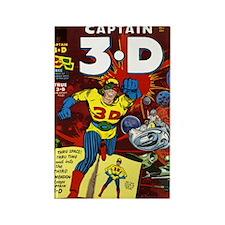 $4.99 Classic Captain 3-D Rectangle Magnet