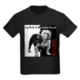 English bulldog Kids T-shirts (Dark)