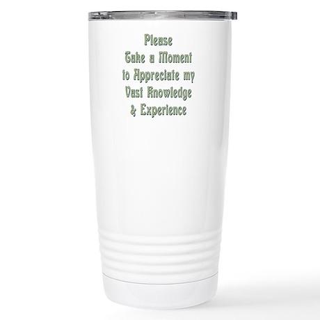 Vast Knowledge Stainless Steel Travel Mug