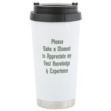 Vast Knowledge Travel Mug