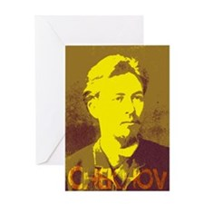 Anton Chekhov Greeting Card