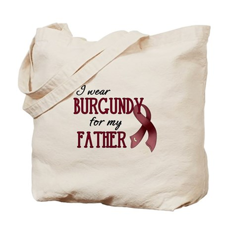 Wear Burgundy - Father Tote Bag