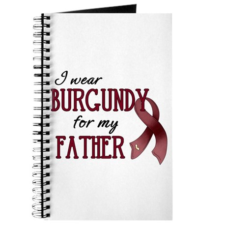 Wear Burgundy - Father Journal