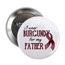 """Wear Burgundy - Father 2.25"""" Button (10 pack)"""