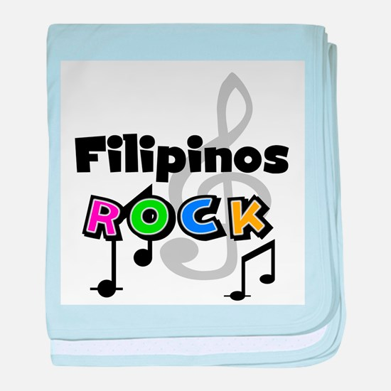 Filipinos Rock Infant Blanket