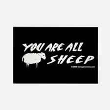 """""""You Are All Sheep"""" Magnet"""