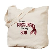 Wear Burgundy - Son Tote Bag