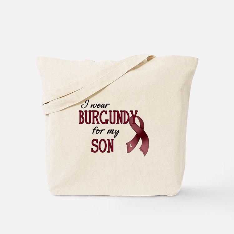 Wear Burgundy - Son Tote Bag