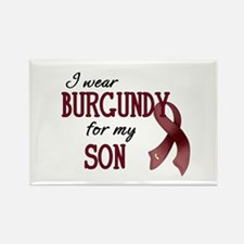 Wear Burgundy - Son Rectangle Magnet
