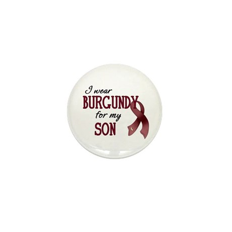 Wear Burgundy - Son Mini Button (10 pack)