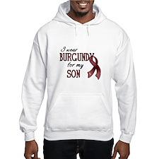 Wear Burgundy - Son Hoodie
