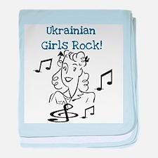 Ukrainian Girls Rock Infant Blanket
