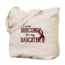 Wear Burgundy - Daughter Tote Bag