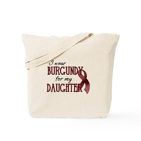 Wear Burgundy - Daughter Tote Bag