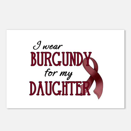 Wear Burgundy - Daughter Postcards (Package of 8)