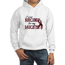 Wear Burgundy - Daughter Hoodie