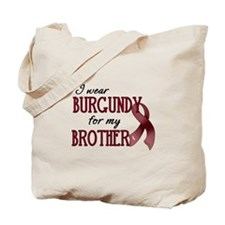 Wear Burgundy - Brother Tote Bag