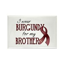 Wear Burgundy - Brother Rectangle Magnet