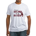 Wear Burgundy - Brother Fitted T-Shirt