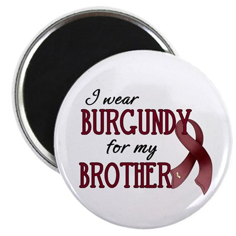 """Wear Burgundy - Brother 2.25"""" Magnet (100 pac"""