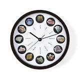 Geology Wall Clocks