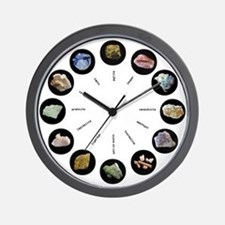 Rocks Around the Clock - light design Wall Clock