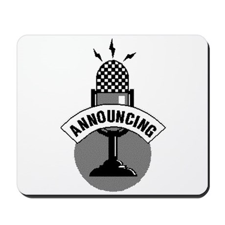 ANNOUNCING-ATTENTION Mousepad
