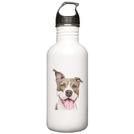 Pitbull terrier Stainless Water Bottle 1.0L