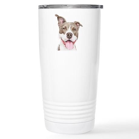Pitbull terrier Stainless Steel Travel Mug