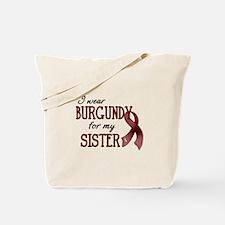 Wear Burgundy - Sister Tote Bag