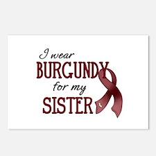 Wear Burgundy - Sister Postcards (Package of 8)