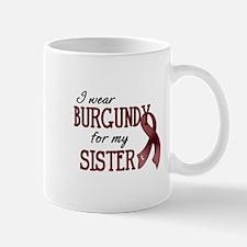 Wear Burgundy - Sister Mug