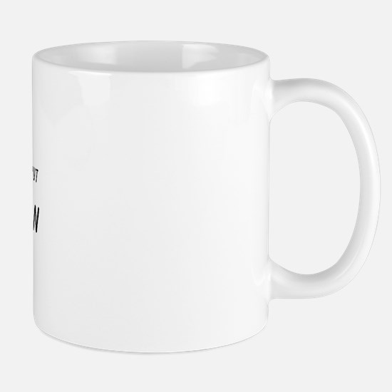 Strong Enough for a Women, bu Mug
