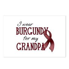 Wear Burgundy - Grandpa Postcards (Package of 8)